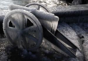 frozen cannon